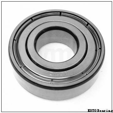 45 mm x 85 mm x 49,2 mm  KOYO ER209 deep groove ball bearings