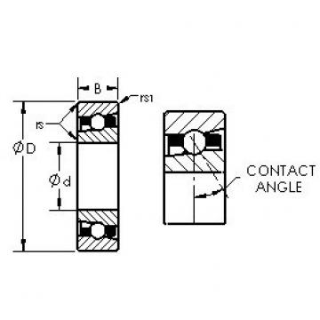 AST H71922AC/HQ1 angular contact ball bearings