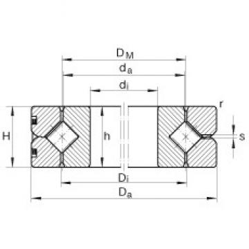 INA SX011832 complex bearings