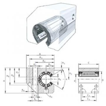 INA KGSC50-PP-AS linear bearings