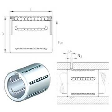 INA KH40 linear bearings