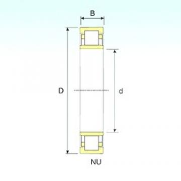 670 mm x 980 mm x 230 mm  ISB NU 30/670 cylindrical roller bearings