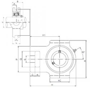 ISO UCT213 bearing units