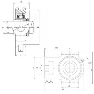 ISO UKT206 bearing units