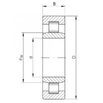 130 mm x 230 mm x 80 mm  ISO NU3226 cylindrical roller bearings
