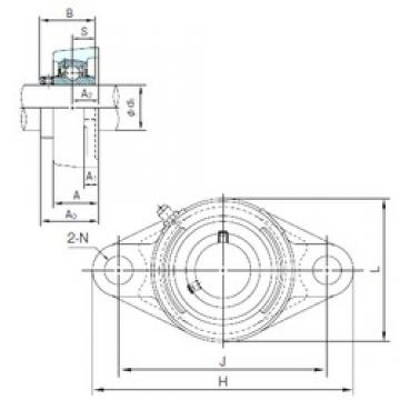 NACHI MUCFL205 bearing units