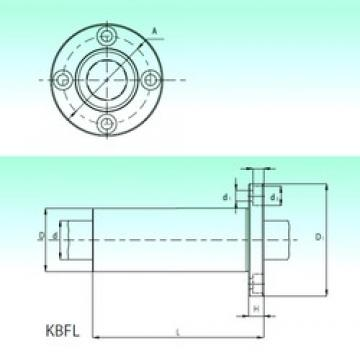 NBS KBFL 20 linear bearings