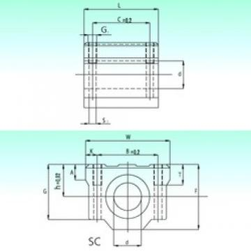 NBS SC 12-UU AS linear bearings